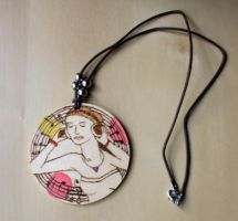 Listen To The Music Necklace by ange-etrange