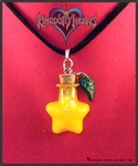 Kingdom Hearts Paoupu Fruit Necklace Charm by Crazy8zCharmz