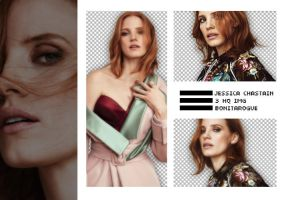PACK PNG 44 // JESSICA CHASTAIN by Bonitarogue