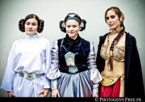3 faces of Leila by photogeny-cosplay