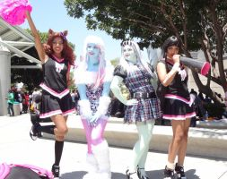 Monster High at Anime Expo 2014 LA by LordKojay