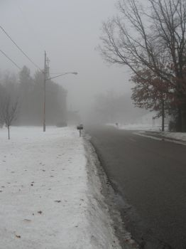 Silent Hill in Winter 2 by TheMajesticKagu