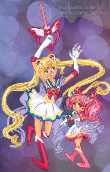 Sailor Moon you are the best by Megalosaurus