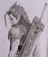 Zack Fair, Crisis Core by Jasmin1982