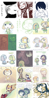 Keroro Sketch Dump Part 1 by Sylladexter