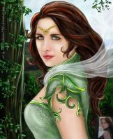 _Forest Fairy_ by edmona1980