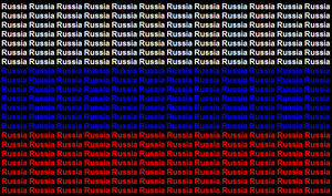Russia name flag by ABtheButterfly