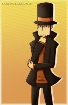 NDS Friends: Professor Layton by 77Shaya77