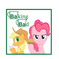 Baking Bad by Poniker