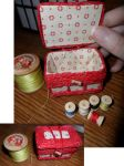 Miniature Sewing Basket by kayanah