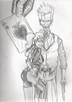 The Joker and Harely Quinn by masterlee24