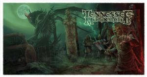 Tennessee Murder Club Wraparound CD cover by WacomZombie