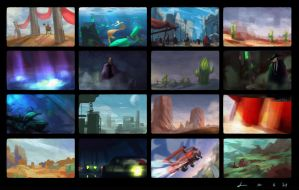 Color Thumbnails by EsbenLash