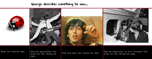 How George describes the size of something he saw by Rijogepa