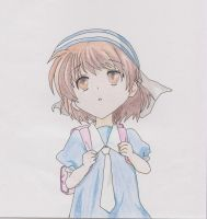 Ushio - Clannad by AlexsDrawings