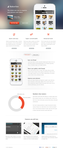 Bakerloo theme - App landing page by Mythic12