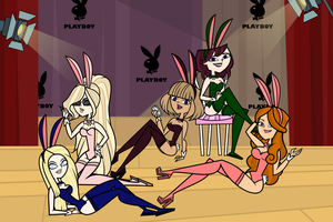 Playboy Bunnies 2.0 by Lady-of-Madness