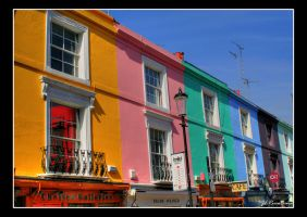 Colourful houses by DostorJ
