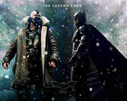 THE DARK KNIGHT - THE LEGEND ENDS SOON WALLPAPER by TheSayGi