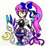 BF OC: Moon Goddess Lunaria by Zorceus