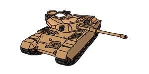 Centurion Mk. 7/1 (Vector) by xPhiL1998