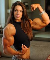 Angelina Masino Muscled by Turbo99