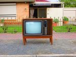 TV on the kerb! by ryanthescooterguy