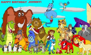 Happy Birthday Johnny by kylgrv