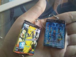 Persona KH Earrings by lalaliza