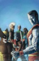 X-men 1980's After Romita jr. by mr-sinister2048