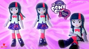 Equestria Girls - Twilight - Handmade Plush Doll by Lavim