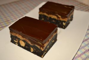 Peanut butter Nanaimo bars by Lily-Gangsta