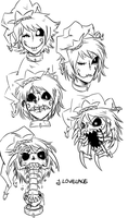 Cackle Expression Sheet~ by TheWickedWordsmith