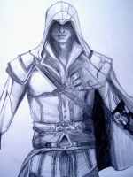 Ezio Auditore by w3ph