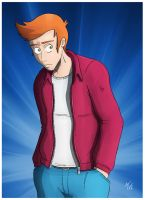 Fry, Phillip J. by NapalmDraws