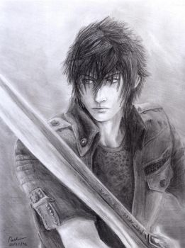 Final Fantasy XV - Noctis by INH99