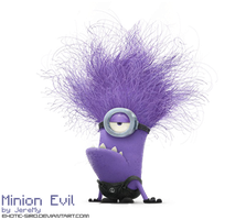 [PNG3] Minion Evil of Despicable Me by exotic-siro