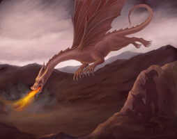 Smaug attack by pranDIV