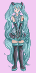 ::RQ:: Hatsune Miku by Moonlite-Skies