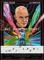 Whiplash movie poster by AndrewSS7