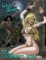 Lost Girl comic book Cover 2 by Superheroine-Art