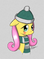 Winter Shy by markiz707