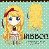 Ribbon Figure design by Memento-palace