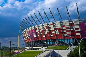 The Warsaw National Stadium by gregivan
