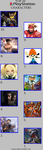 My Top 10 Playstation Characters by greece4life
