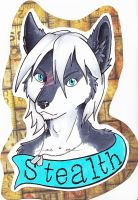 Stealth Badge by dragonmelde