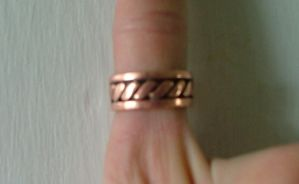 Copper twist ring by Marcusstratus