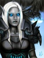 Iribeth: Death knight by morbidtreason17