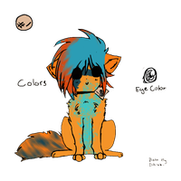 Neon Pup Adopt - Adopted by Feralx1
