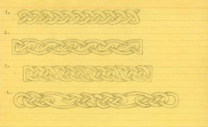 Celtic design -borders- 1 by Vassilius